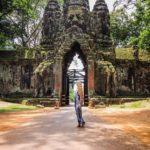 Angkor Bayon Temple Ruins
