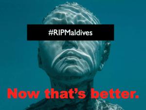 RIP Maldives Coralarium
