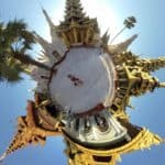 Shwedagon Pagoda Tiny Planet