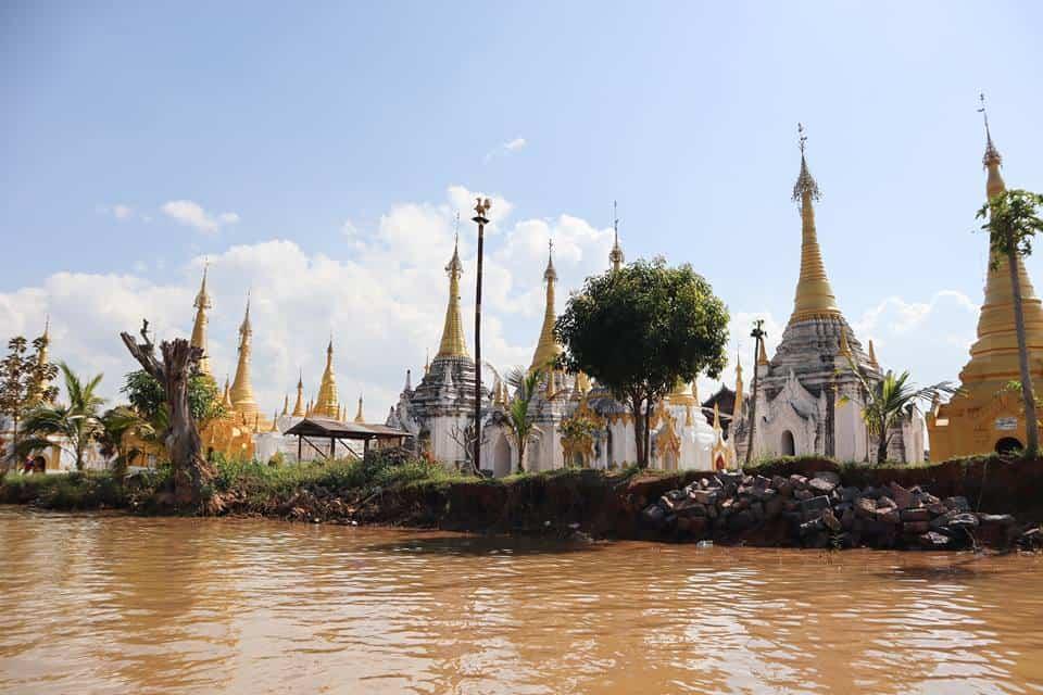 Stupas and Pagodas Inle Lake